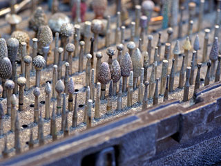 power wood carving bits